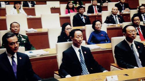 Video: Ông Tập Cận Bình phát biểu trước Quốc hội Việt Nam - 5