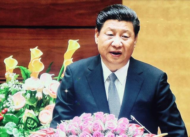 Video: Ông Tập Cận Bình phát biểu trước Quốc hội Việt Nam - 2