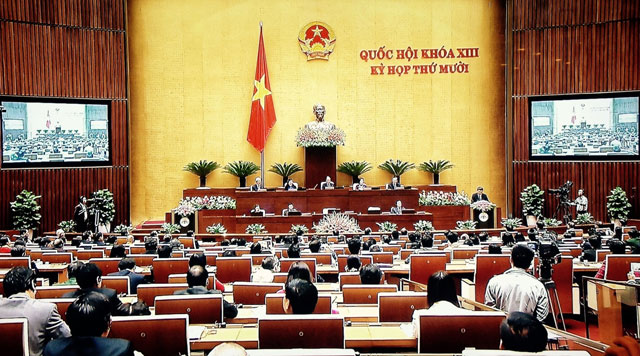 Video: Ông Tập Cận Bình phát biểu trước Quốc hội Việt Nam - 3