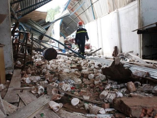 Truy tố GĐ công ty bị nổ hóa chất khiến 3 người chết - 1