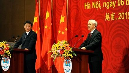 Tuyên bố chung Việt Nam - Trung Quốc - 1