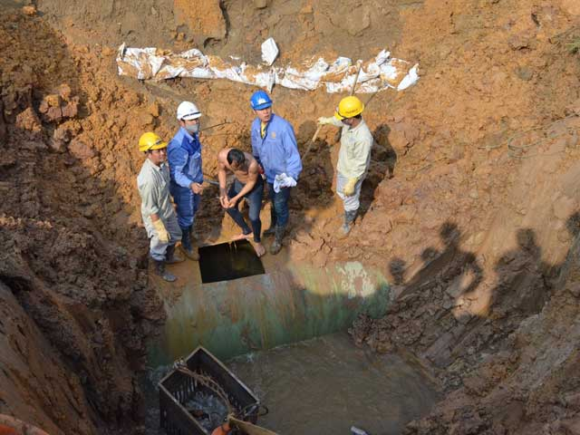 HN: Đường ống nước Sông Đà gặp sự cố lần thứ 16 - 1