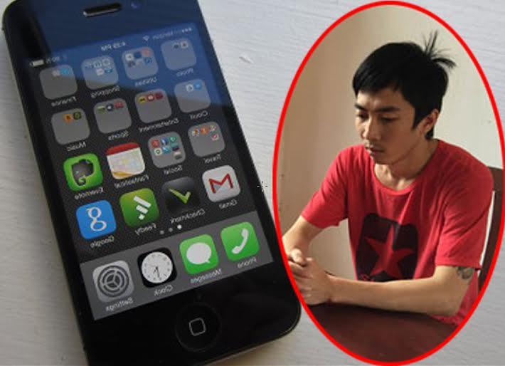 Chia tay không đòi được nợ, cướp iPhone của bạn gái cũ - 1