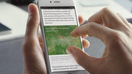 Facebook sắp tung ứng dụng đọc báo Notify - 1