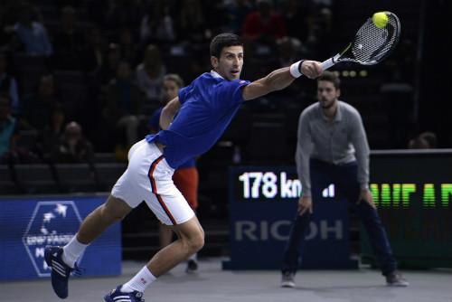 Djokovic - Berdych: Rượt đuổi nghẹt thở (TK Paris Masters) - 1