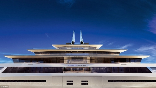 Chiêm ngưỡng siêu du thuyền như cung điện nổi trên biển - 8