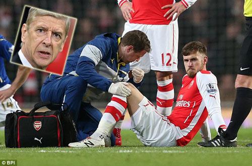 Wenger không dám mơ vô địch NHA vì chấn thương - 1