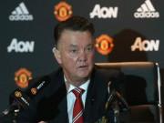 Bóng đá - MU đá chán, Van Gaal nhận hết trách nhiệm về mình