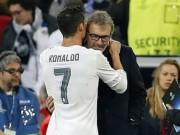 Bóng đá Pháp - Ronaldo nói với HLV Blanc của PSG: 'Tôi thích làm việc cùng ông'