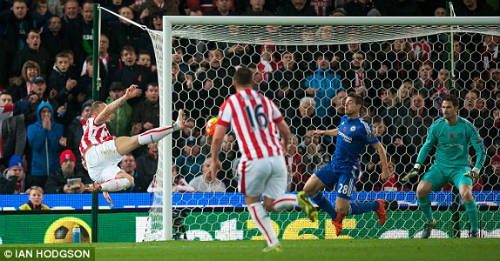 Video Stoke City vs Chelsea - 1