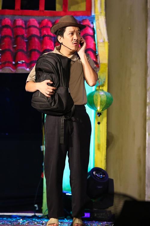 """Mr. Đàm bị Hoài Linh cho """"no đòn"""" vì Trường Giang - 1"""