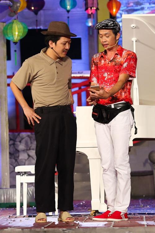 """Mr. Đàm bị Hoài Linh cho """"no đòn"""" vì Trường Giang - 3"""