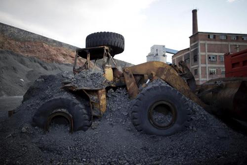 Ảnh: Cuộc sống bên trong thành phố mỏ ở Trung Quốc - 2