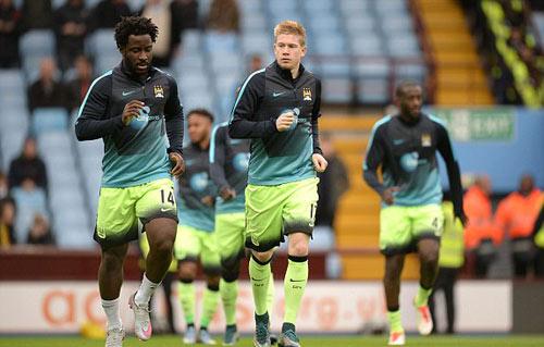Chi tiết Aston Villa - Man City: 1 điểm quý như vàng (KT) - 12