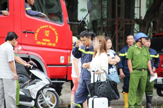 TP.HCM: Giải cứu cô gái Hàn Quốc có ý định tự tử - 1