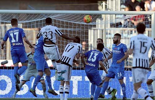 Empoli - Juventus: Kinh nghiệm ngược dòng - 1