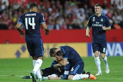 Chi tiết Sevilla - Real Madrid: James ghi bàn an ủi (KT) - 3