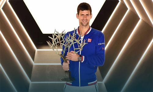 Vô địch Paris Masters, Djokovic lập hàng loạt kỉ lục - 1