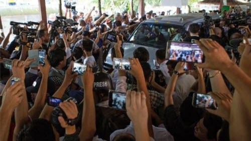 Ảnh: Toàn cảnh cuộc bầu cử lịch sử tại Myanmar - 3