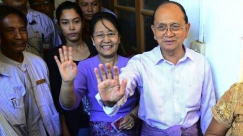 Ảnh: Toàn cảnh cuộc bầu cử lịch sử tại Myanmar - 5