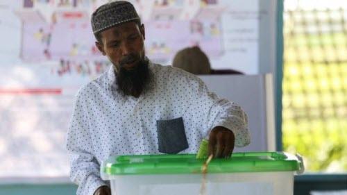 Ảnh: Toàn cảnh cuộc bầu cử lịch sử tại Myanmar - 6