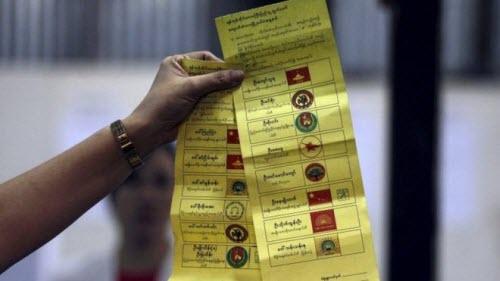 Ảnh: Toàn cảnh cuộc bầu cử lịch sử tại Myanmar - 7