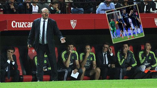 Đã biết thua, Benitez chê học trò thiếu bản lĩnh - 1