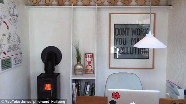 Khám phá bên trong văn phòng nhỏ nhất thế giới - 5