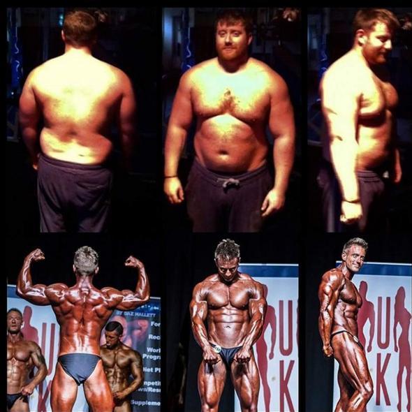 Người đàn ông 127kg bỗng cơ bắp cuồn cuộn nhờ cá cược - 4