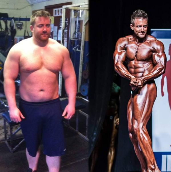 Người đàn ông 127kg bỗng cơ bắp cuồn cuộn nhờ cá cược - 1