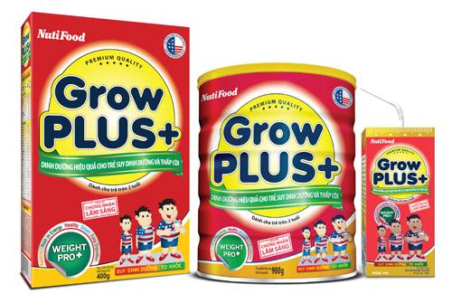 GrowPLUS+ - Dinh dưỡng hiệu quả cho trẻ suy dinh dưỡng thấp còi bán chạy số 01 Việt Nam - 2