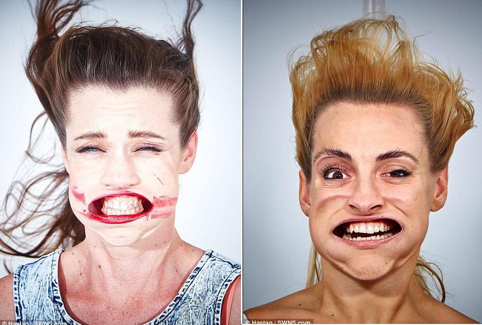 Những khuôn mặt biến dạng vì gió mạnh - 9