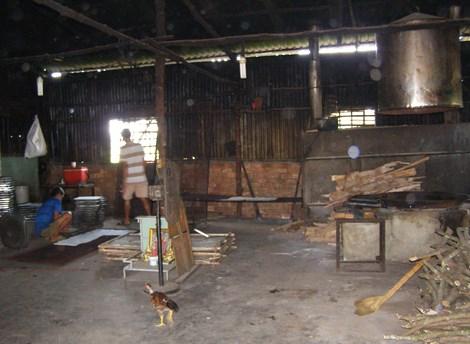 Kinh hoàng công nghệ sản xuất cơm cháy chà bông - 1