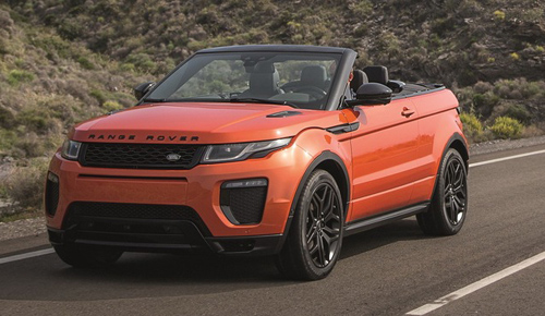 Range Rover Evoque Convertible chính thức lộ diện - 1