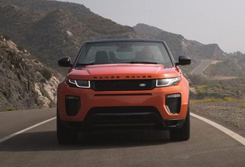 Range Rover Evoque Convertible chính thức lộ diện - 2