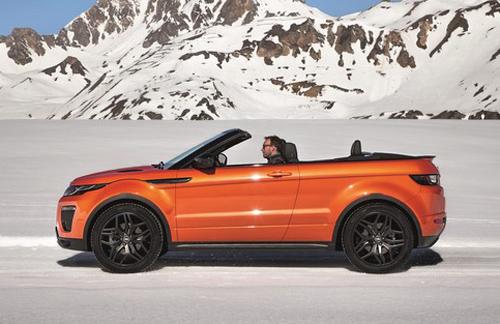 Range Rover Evoque Convertible chính thức lộ diện - 4