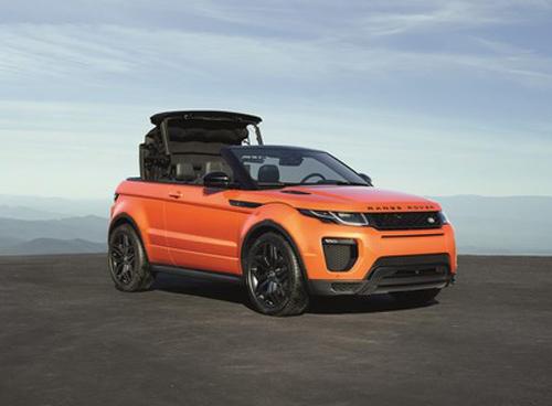 Range Rover Evoque Convertible chính thức lộ diện - 5