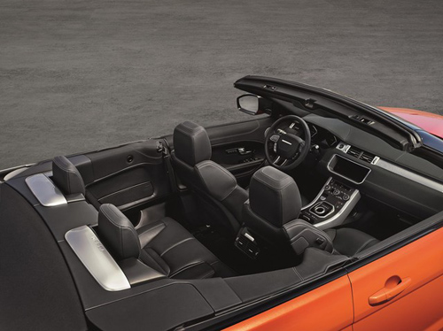 Range Rover Evoque Convertible chính thức lộ diện - 6
