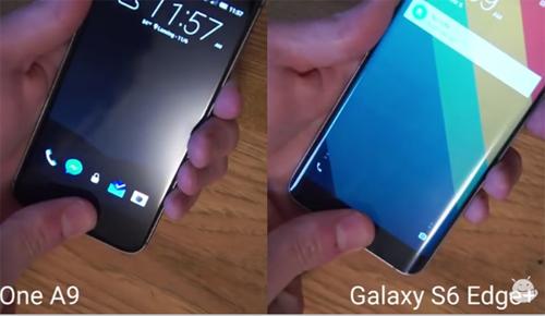 """One A9 và Galaxy S6 Edge Plus """"đua"""" tốc độ cảm biến dấu vân tay - 1"""