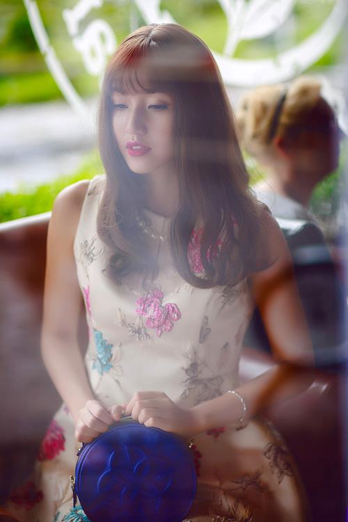Á hậu Trà My xinh như hot girl nhờ kiểu tóc mới - 3
