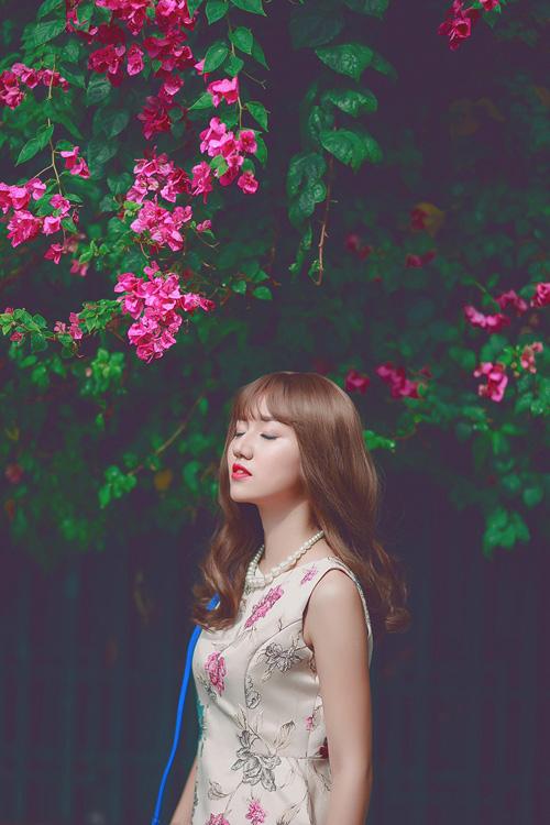 Á hậu Trà My xinh như hot girl nhờ kiểu tóc mới - 4