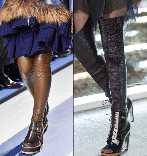 """Boot dài qua gối """"gây mê"""" tại sàn diễn thời trang - 1"""