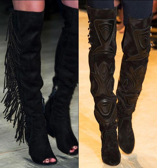 """Boot dài qua gối """"gây mê"""" tại sàn diễn thời trang - 2"""
