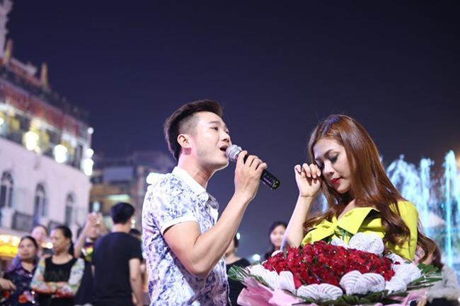 Ảnh cưới nóng bỏng của hoa khôi sinh viên Hà Nội - 1
