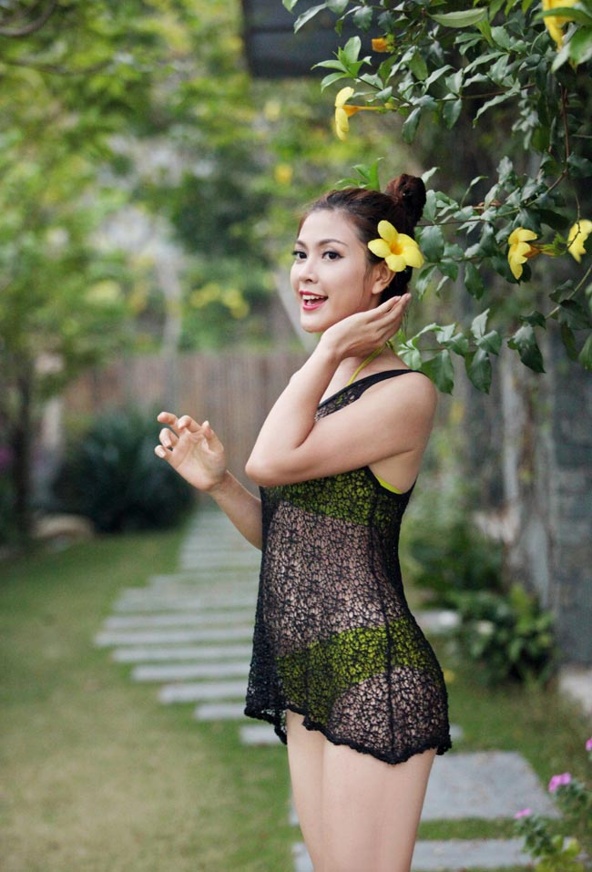 Ảnh cưới nóng bỏng của hoa khôi sinh viên Hà Nội - 5