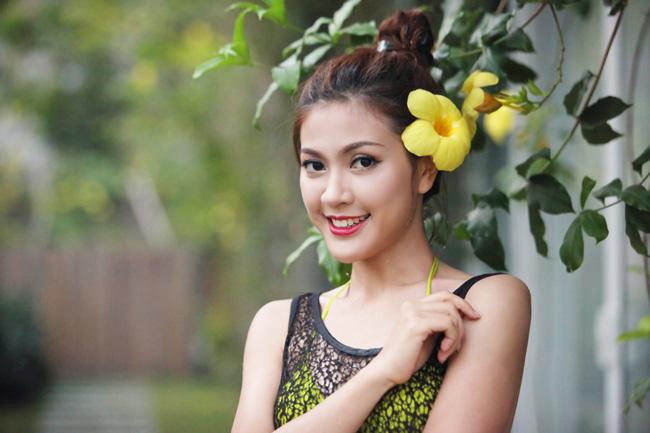 Ảnh cưới nóng bỏng của hoa khôi sinh viên Hà Nội - 6