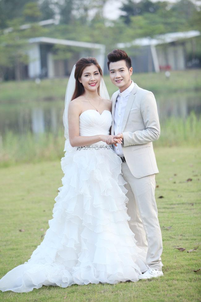 Ảnh cưới nóng bỏng của hoa khôi sinh viên Hà Nội - 7