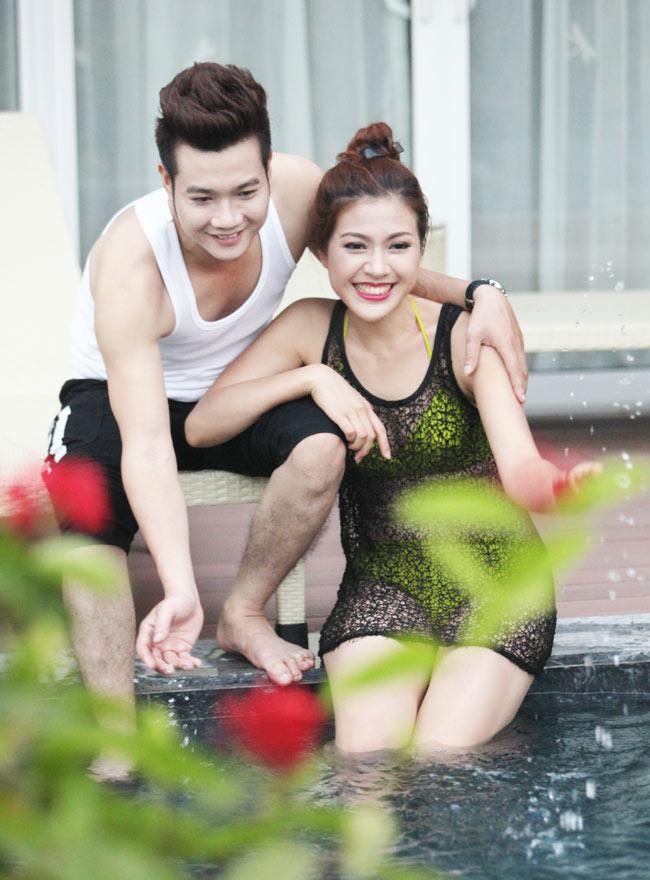 Ảnh cưới nóng bỏng của hoa khôi sinh viên Hà Nội - 3