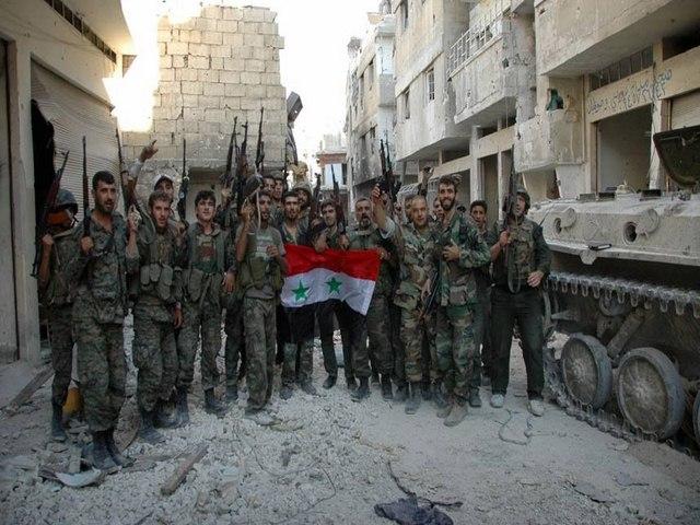 Quân Syria đang dồn ép IS - 1
