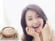 Làm đẹp - Công thức bột yến mạch giúp da sần nhanh trắng mịn